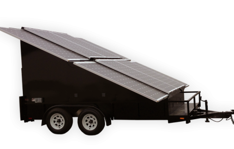 2.4kw Solar Trailer - Patriot Solar Group