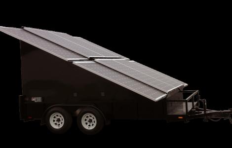 2.4kw Solar Trailer - Patriot Solar Group