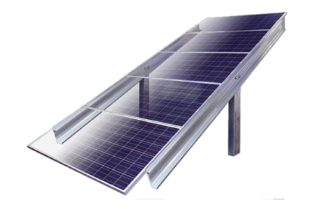 Post-driven-solar-ground-mount-5-high