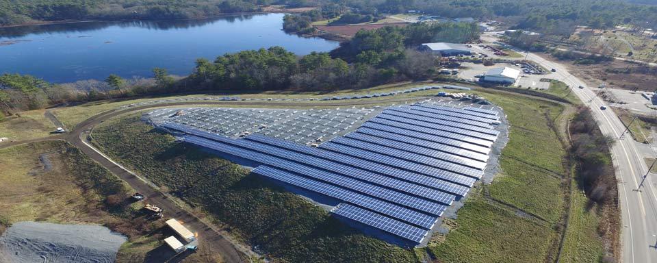 North Carver Landfill Solar Installation Patriot Solar
