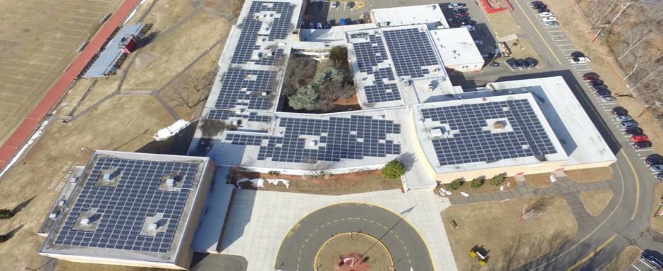 Manchester-HS-solar-roof-installation
