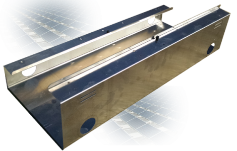 Ballasted roof mount mounting tray for roof top solar installation