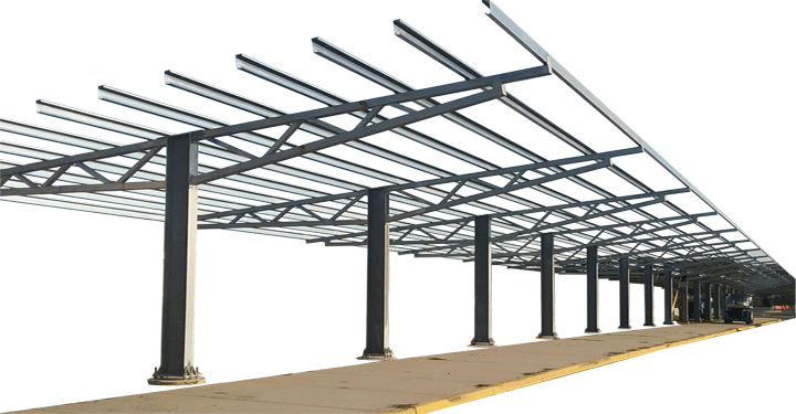 Solar Carport :: Patriot Solar Group