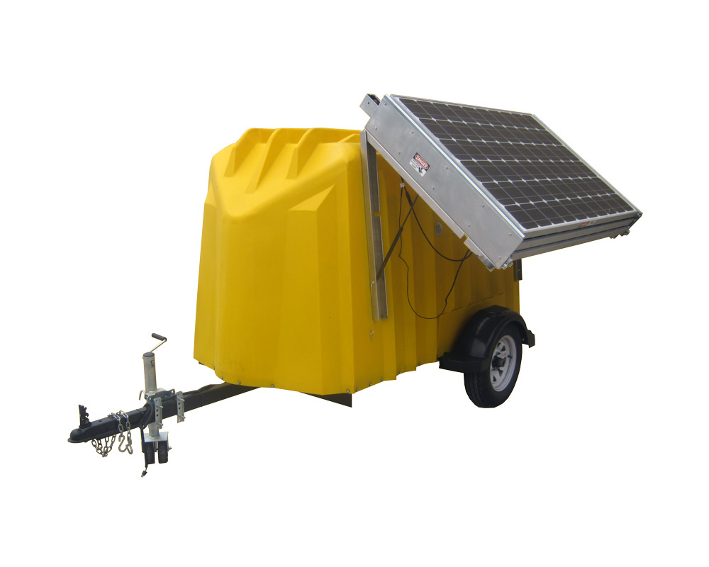Solar Panel Roof Cost >> Solar Trailers :: Patriot Solar Group