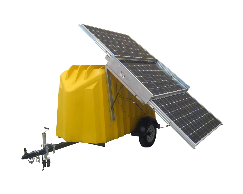 Solar Trailers Patriot Solar Group