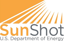 U.S. Department of Energy Sunshot banner.