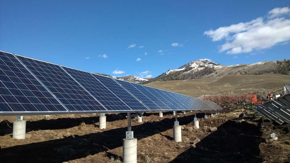 Yellowstone National Park Solar Installation :: Patriot ...