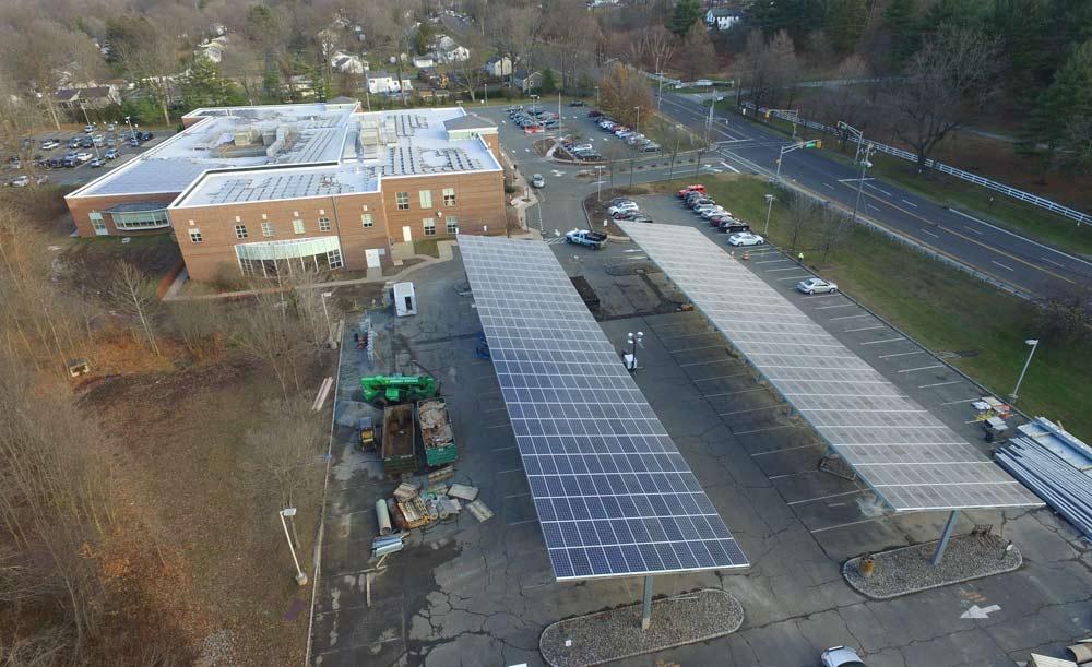 Morris County Library Solar Carports Patriot Solar Group