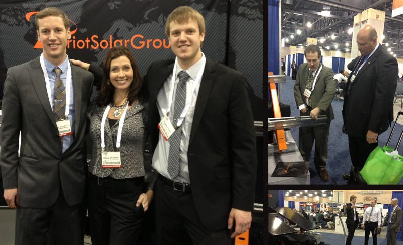 PV America 2013 – Patriot Solar Group
