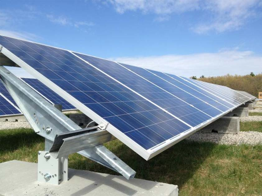 Ballasted Ground Mount :: Patriot Solar Group