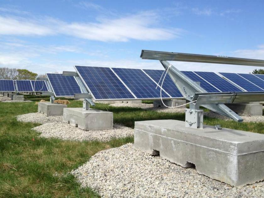 Ballasted Ground Mount Patriot Solar Group