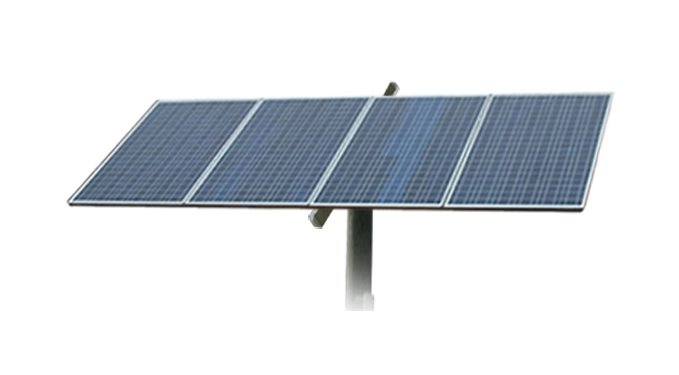 Adjustable Pole Mount 4 Panel Patriot Solar Group