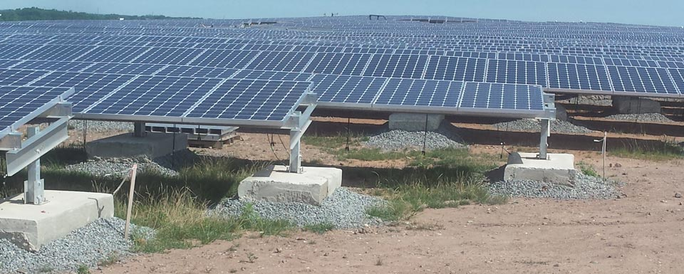 Edison Landfill Solar Project :: Patriot Solar Group