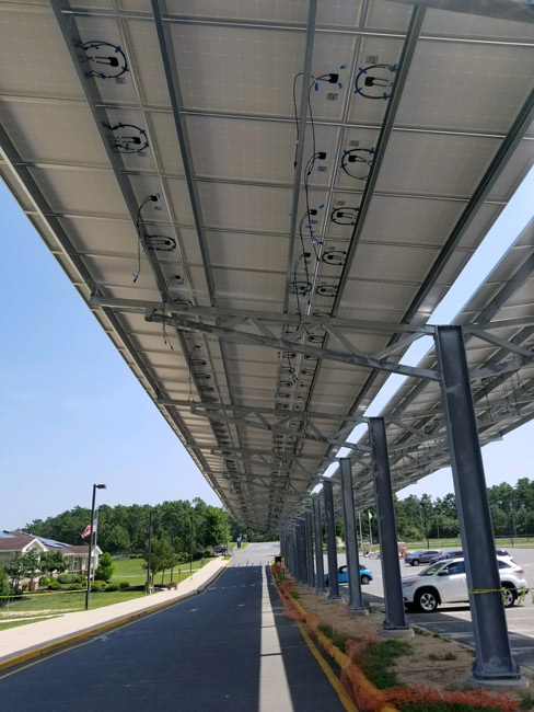 Solar Carport Y Frame Patriot Solar Group