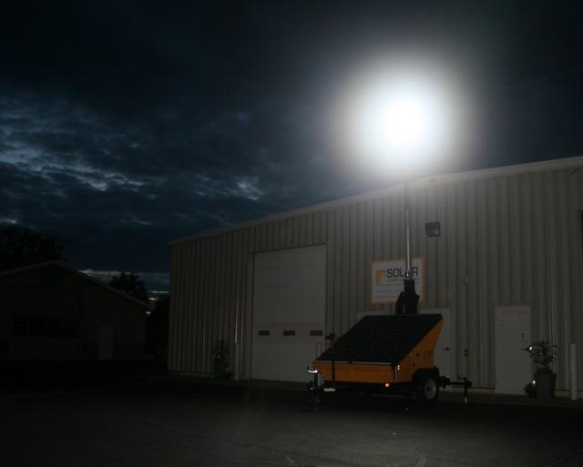 Solar Light Trailer Patriot Solar Group