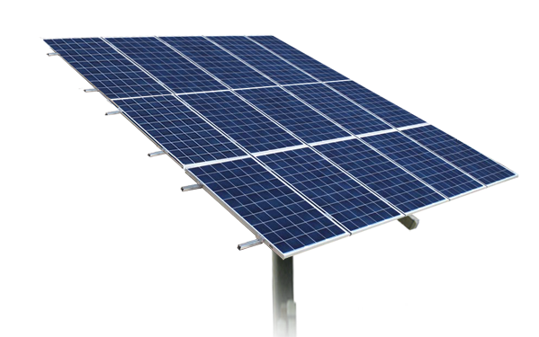 Adjustable Pole Mount 15 Panel Patriot Solar Group