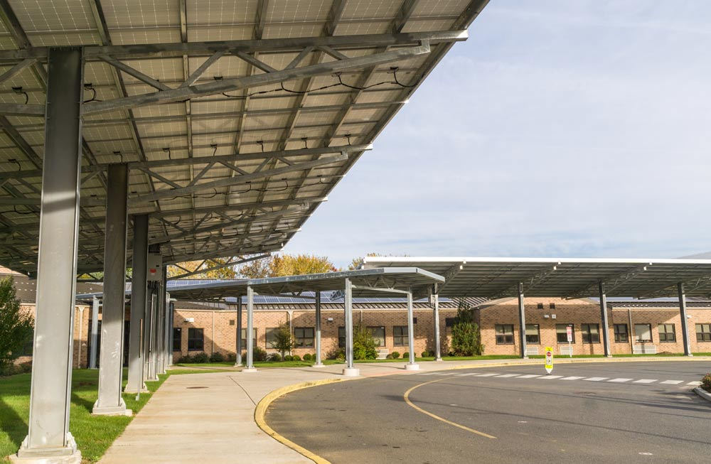 East Greenwich Solar Carports :: Patriot Solar Group